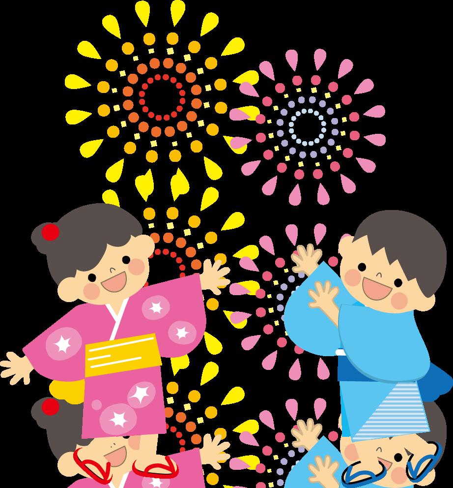花火のイラスト・無料イラスト : 子供 塗り絵 無料 : 子供