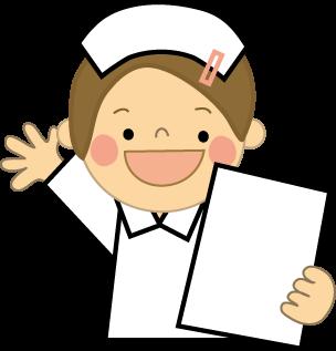 看護師のイラスト(看護婦 ... : 勉強 プリント : プリント