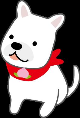 桃太郎 犬 イラスト